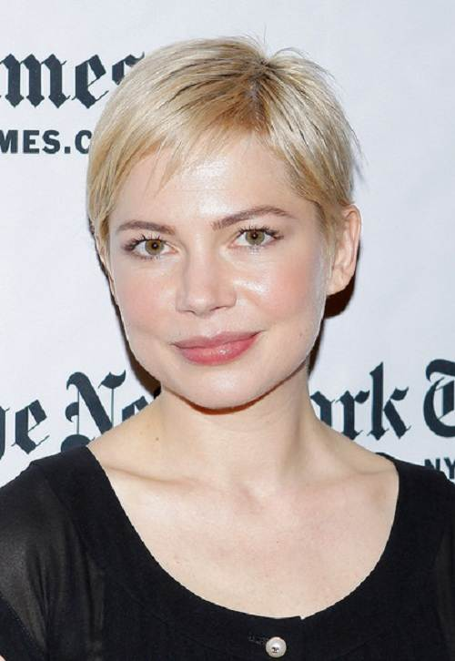 Pixie Hairstyle for Round Face Images