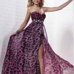 Printed Prom Dress 2013
