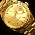 Rolex Men Gold Watch 2013