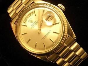 Rolex Men Gold Watch 2013