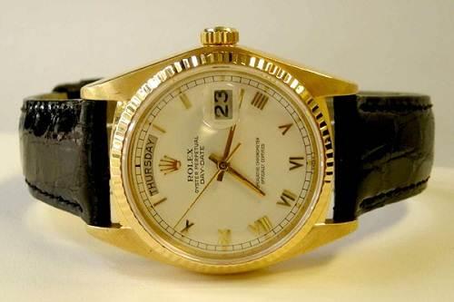 Rolex Men Gold Watch Images