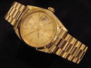 Rolex Men Gold Watches