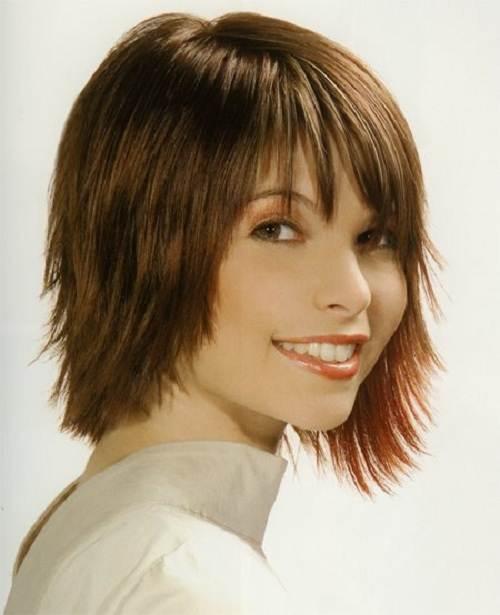 Short Side Fringe Hairstyles