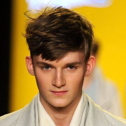 Short Sides Long Top Haircut Men Ideas