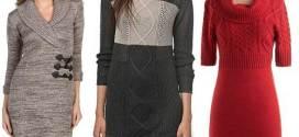 Tunic Sweater Dress for Warmer Fall Fashion Style