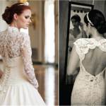 Wedding Dress Lace Back