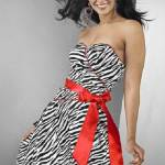 Zebra Prom Dress Designs