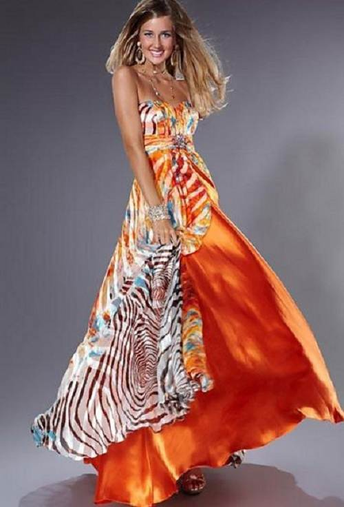 Zebra Prom Dress Ideas