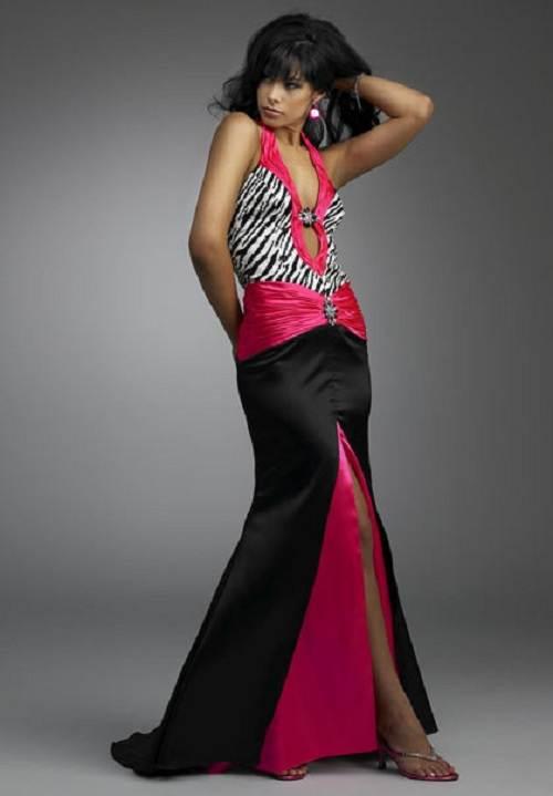 Zebra Prom Dresses