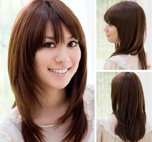 Asian Hairstyles Semi Long Hair Images