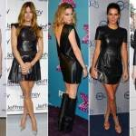 Black Leather Dress Outfits for Sale