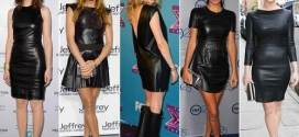 Black Leather Dress Outfits the Futuristic Dress Ideas
