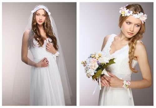 Bride Boho Hippy Chic Dress