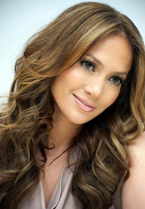 Brown Hair with Blonde Highlights Pictures
