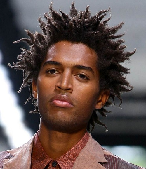 Curly Haircuts For Black Men Short