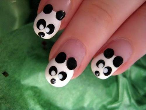 Cute Animal Nail Designs Panda