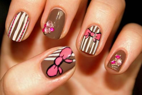 Cute Natural Nail Designs Concept