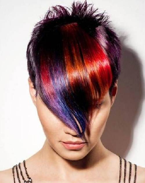 Edgy Highlights Hairstyles Sample