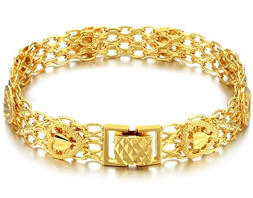 Gold Bracelets for Women Designs