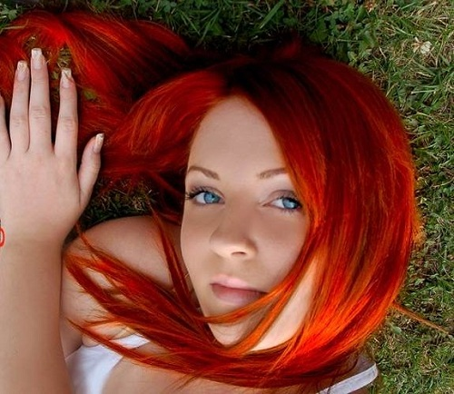 Hair Color Styles Reddish Images
