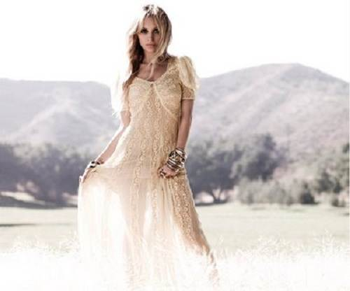 Hippie Chic Wedding Dresses Ideas