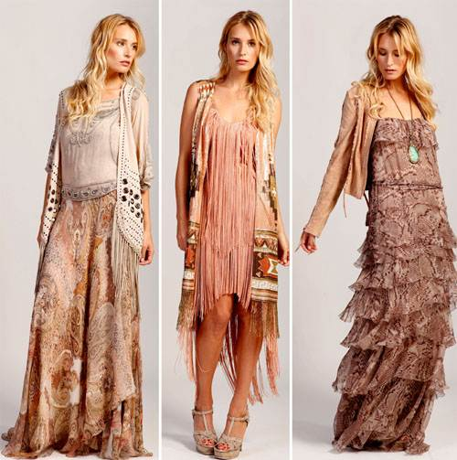 Modern Hippie Clothing for Women Images
