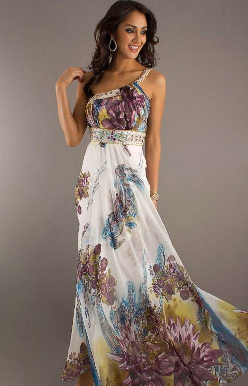 Patterned Grad Dresses Collection