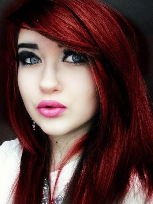 Red Violet Hair Color Formulas