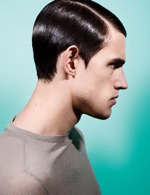 Retro Hairstyle Men Photos