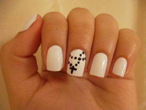 Rosary Nail Art Designs Pattern