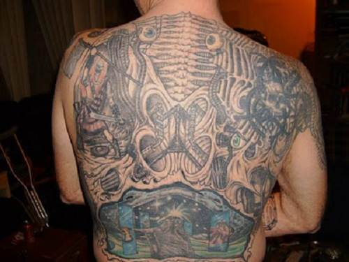 Strength tattoos with Cross Ideas