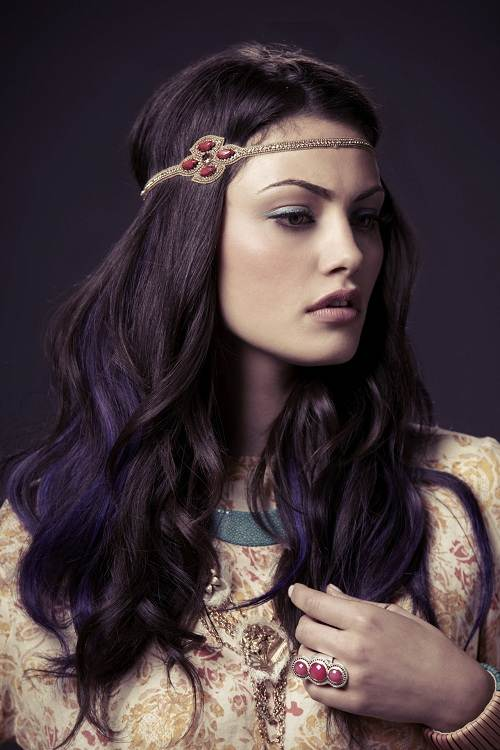 Violet Brown Hair Color 2013